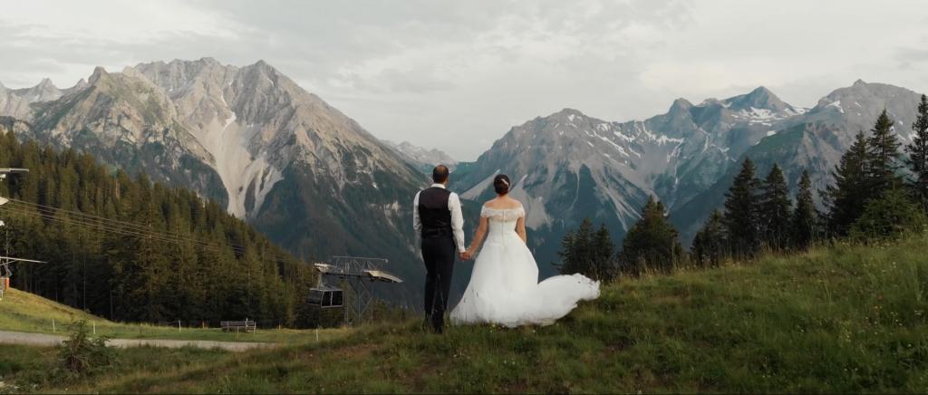 svadobné video alpy